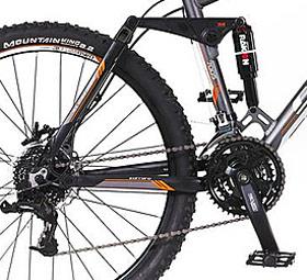 Carrera Banshee Full Suspension Mountain Bike