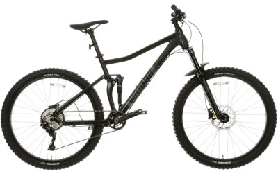 Voodoo Canzo Full Suspension Mens Mountain Bike