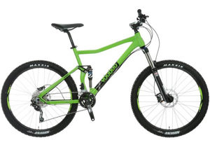 VooDoo Zobop Full Suspension Mountain Bike