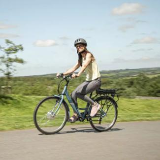 Apollo Metis Womens Electric Hybrid Bike